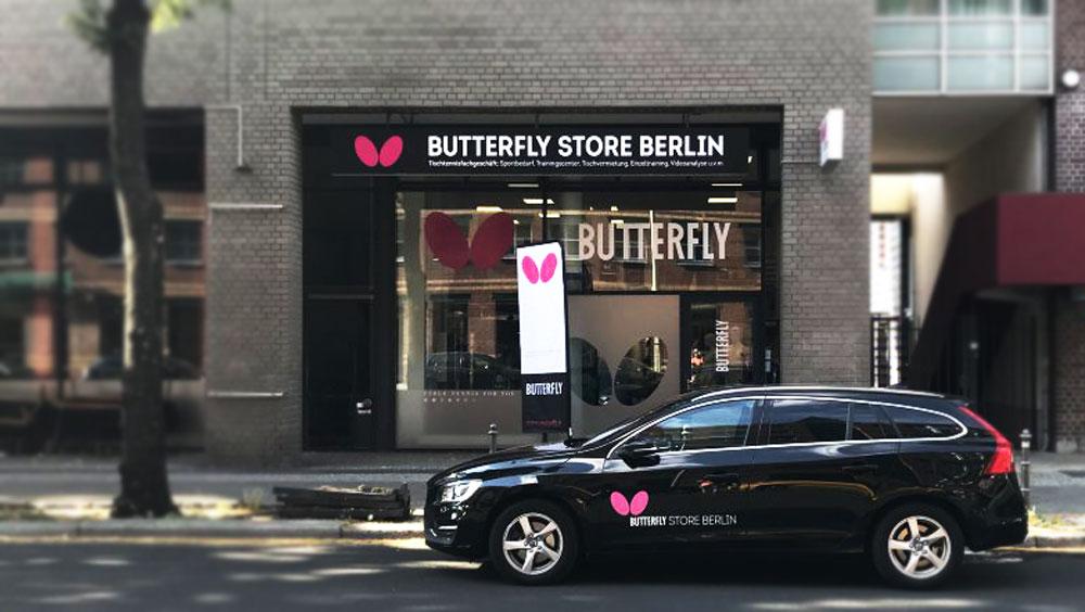 Kontakt - So erreichst Du mich. TT TRAINING BERLIN im Butterfly Store Berlin - Videoanalyse, Einzeltraining mit Trainiern vom Butterfly Trainer Team.